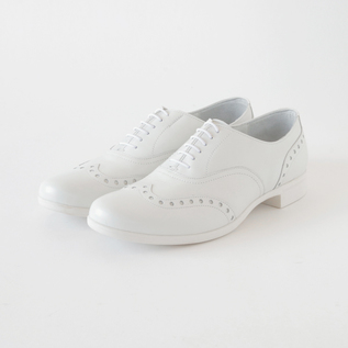 TRAVEL SHOES WINGTIP RAIN WH