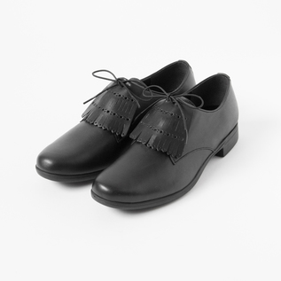 TRAVEL SHOES PLANE TOE RAIN WITH KILT BL