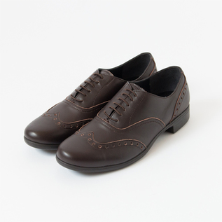 TRAVEL SHOES WING TIP RAIN DBR