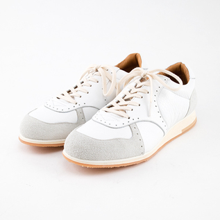 MUKAVA LEATHER SNEAKERS WHITE