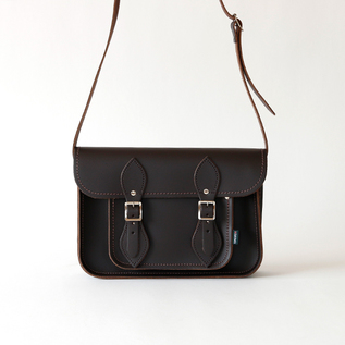 Satchel bag 11.5 D.Brown