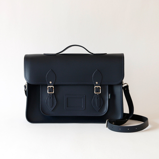 Satchel bag 16 Navy