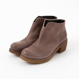 SHORT BOOTS TEXAS19 LEATHER TAUPE