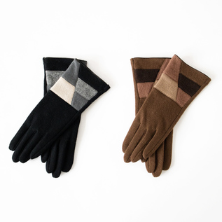 WOMENS GLOVES BRIQUE
