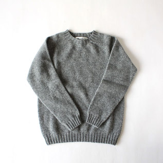 Crew neck sweater Medium Grey 030