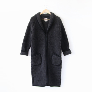 ガウンコート DRESSING GOWNS / BLACK
