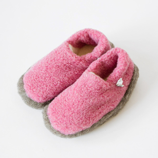 ROOM SHOES SIBERIAN PINK