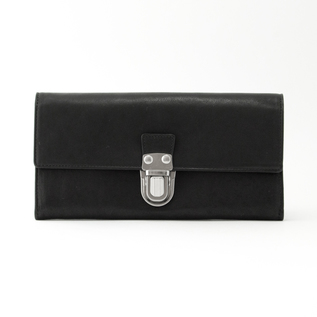 LEATHER LONG WALLET CARTABLE