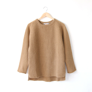WIDE BODY SIDE SLIT SWEATER