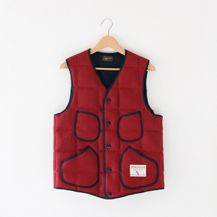 Unisex Browns Beach down vest