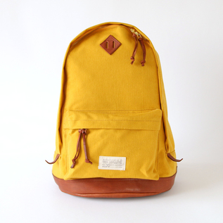 NylonCross-Leather Old daypack