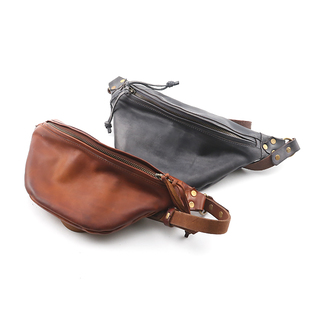 LEATHER WAIST BAG SMALL