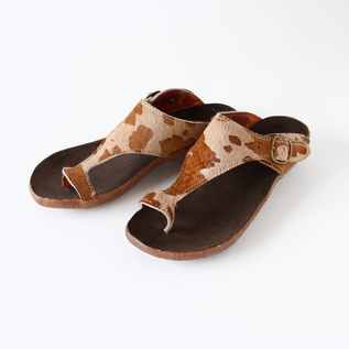 Harako Leather sandals beige