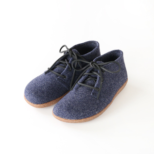 FELTED SHOES MARINE