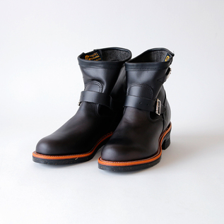 Men Engineer Boots black