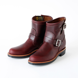 Women Engineer Boots cordovan