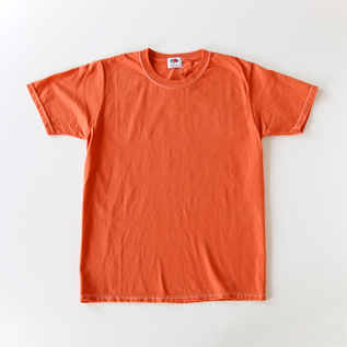 Fruit-dyed T-shirt Apricot