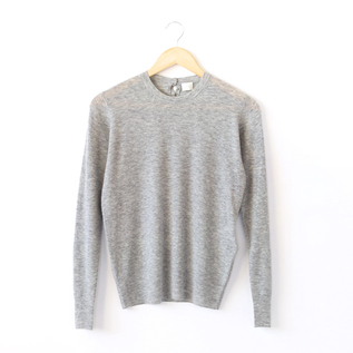 WOOL RIB SWEATER