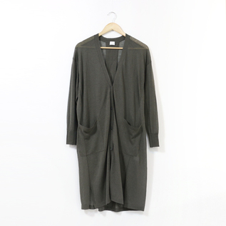 WOMEN JAPANESE YARN LONG CARDIGAN