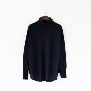 HIGHGAUGE WOOL TURTLENECK TOP