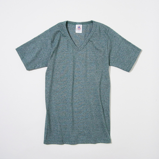 V-NECK SHORT SLEEVE T-SHIRT GREEN