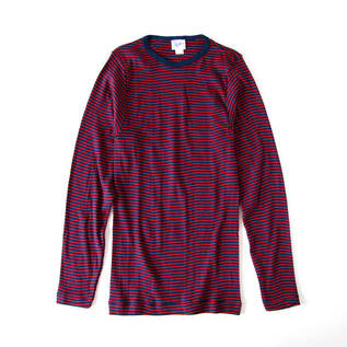 MEN MILLER CREW NECK LONG SLEEVE NVY-RED
