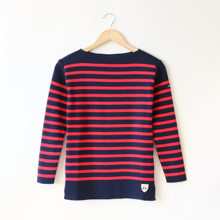 LONG SLEEVE T-SHIRT BRES MARINE-ROUGE