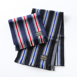 WOOL STOLE STRIPE