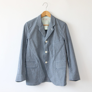 Men IndigoSucker jacket