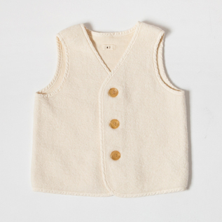 RAISED COTTON KIDS VEST