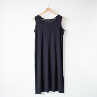 COTTON LINEN LAYERED DRESS