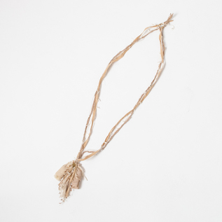 SILK LINEN NECKLACE