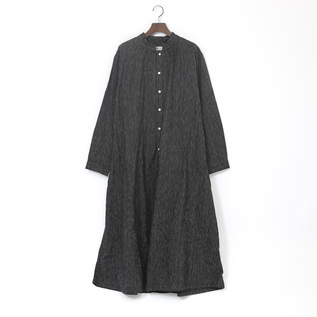 CL STRIPE SHIRTS DRESS BLACK