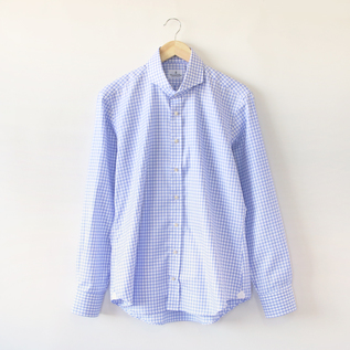 Bespoke Men Ready To Wear shirt blue