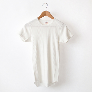 BROAD RIB CREWNECK SHORT SLEEVE