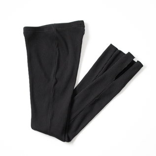 PLEAT SMOOTH LEGGINGS