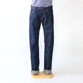 メンズ 14OZ SLIM TAPARED ONE WASH デニム