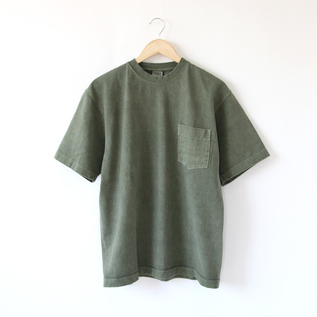 メンズ 8oz MAX WEIGHT PIGMENT DYED Tシャツ