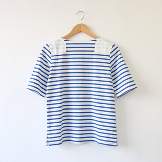 Short sleeve shirt Basque shirt