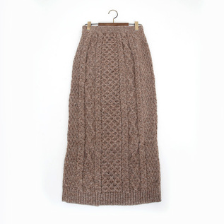Aran Cable Skirt