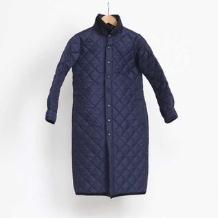 Quilting coat Regular color Navy
