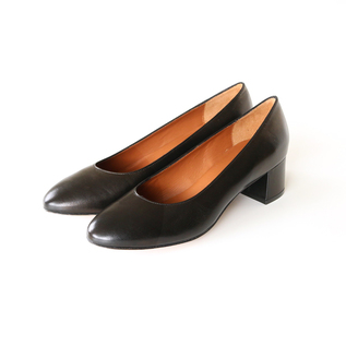 PLAIN PUMPS NERO