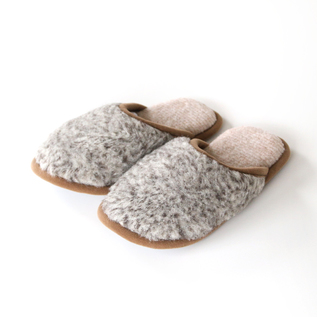 MERINO WOOL SLIPPERS MELANGE