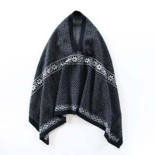 FAIR ISLE DESIGN PANCHO