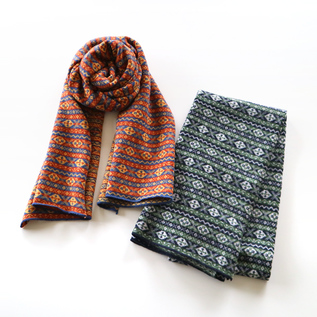 FAIR ISLE DESIGN STOLE
