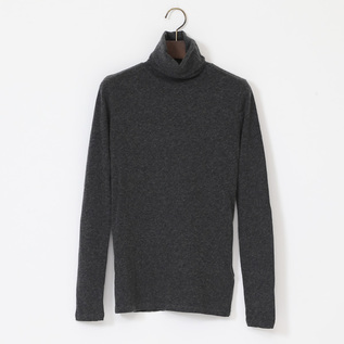 COTTON CASHMERE TURTLENECK