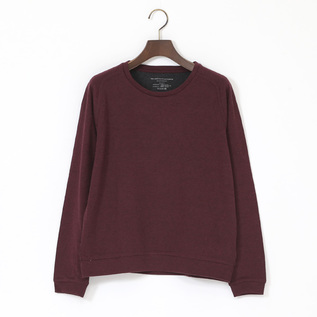 COTTON CASHMERE DOUBLE FACE LONG SLEEVE
