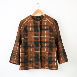 SHORT RAGLAN COAT