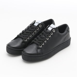 LEATHER SNEAKER ITOH CLASSIC BLACK-BLACK