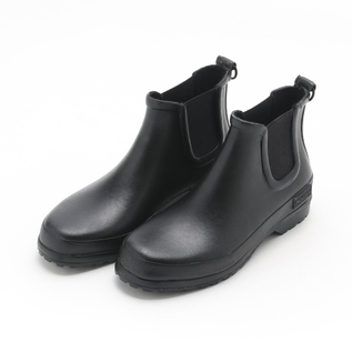 RUBBER BOOT CHELSEA BLACK